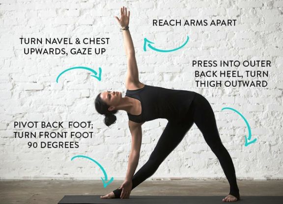 Using The Triangle Pose In Yoga To Your Benefit