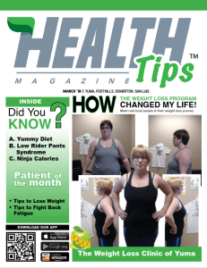 March 2018 Magazine Cover