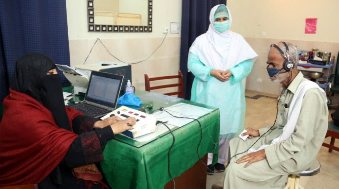 Free Hearing Screening Camp establishes in Ormara 1