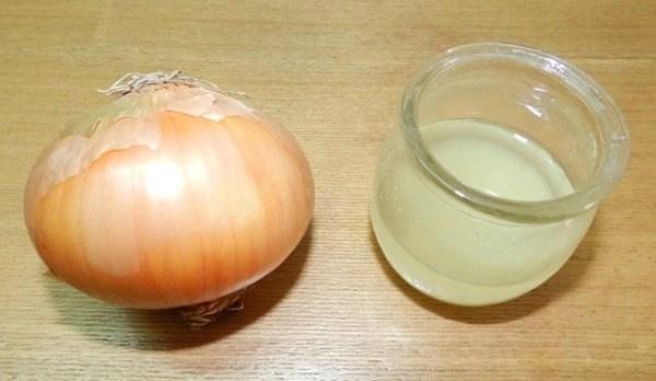 Onion juice extract