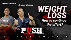 PUSH Fitness Podcast - Weight Loss Techniques Featured Image