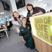 North East Ambulance Service staff