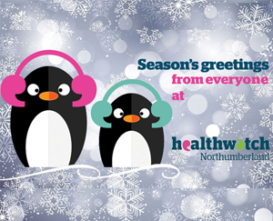 Healthwatch Christmas Penguins