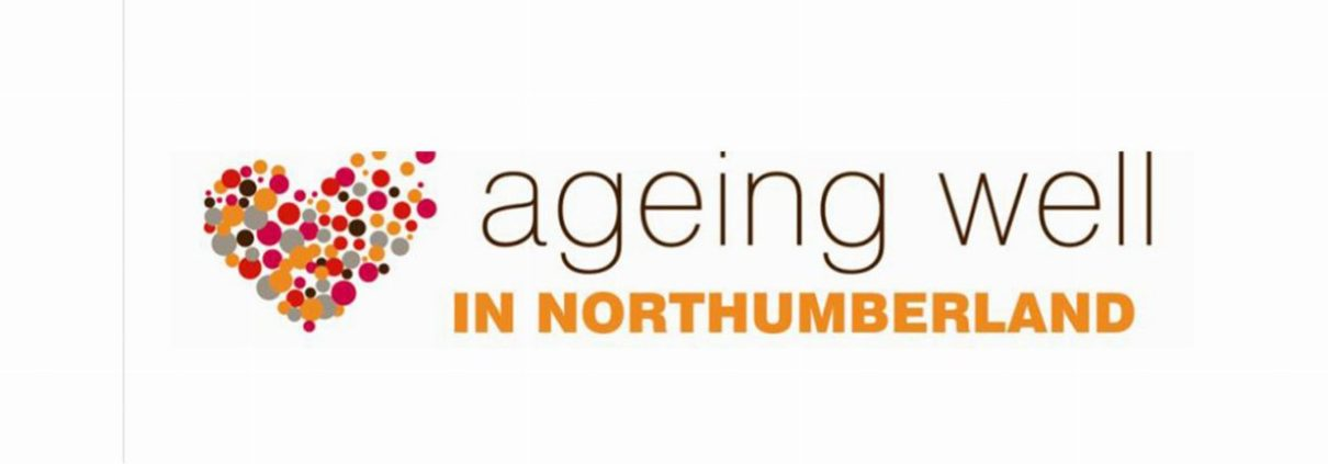 Ageing Well in Northumberland logo