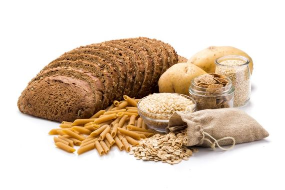 bread, pasta, rice,  carbohydrates