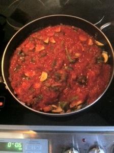 Vegan Low fat pasta sauce