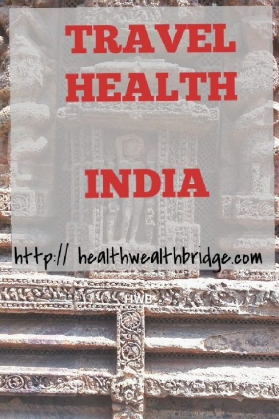 Travel Healthy when in India