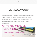 Amy Lynn Andrews...famous KNOWTOBOOK