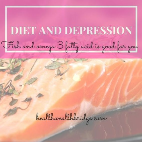 DIET AND DEPRESSION:Fish diet improves omega 3 fatty acid