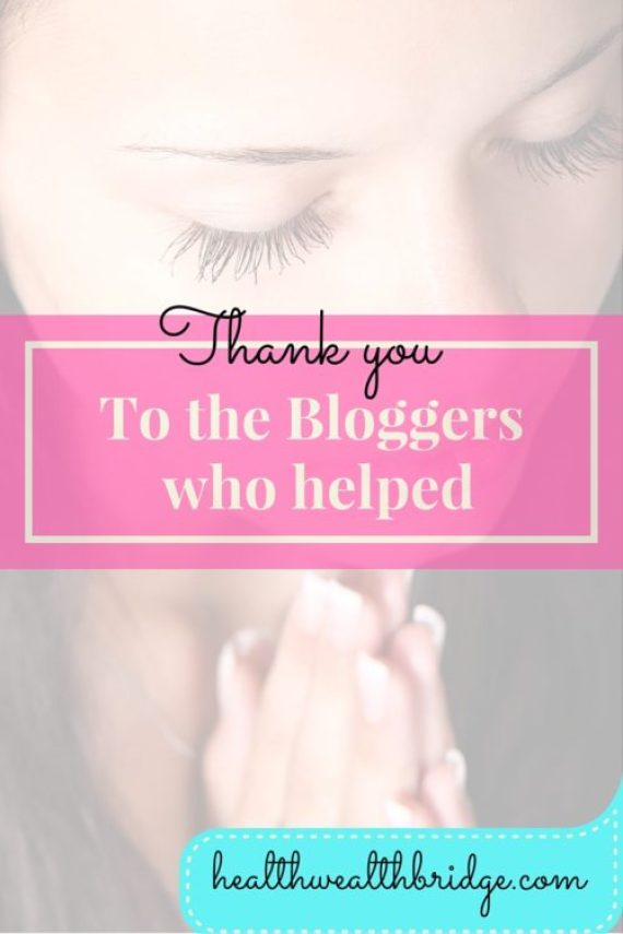 Thank you is an important word.Its the only way you can spread the message
