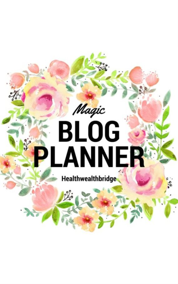 Blog journal & Planner