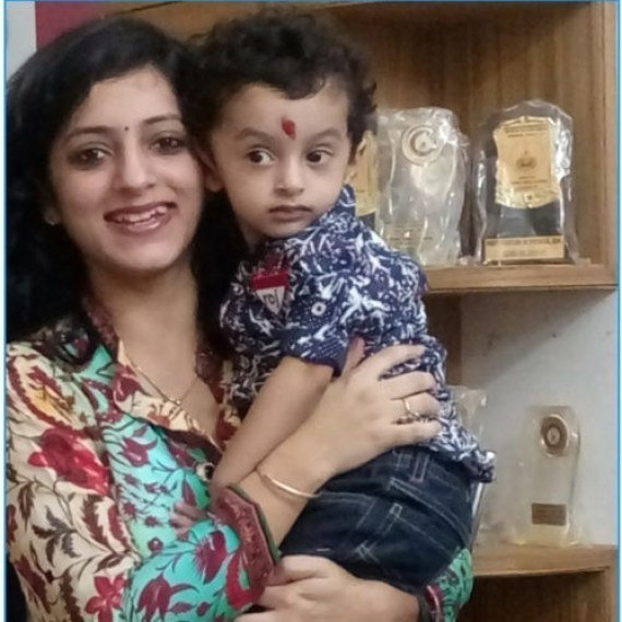 MondayMommy moments winner for week 1 2017:Upasana of lifethroughmybioscope.com