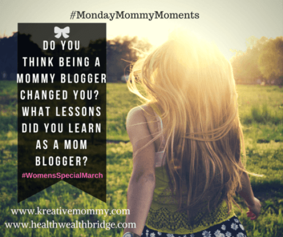 Monday Mommy moments:Mom blogger