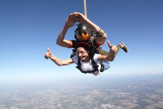 Skydiving at Sky dive City:Pic Credit Ana Ojha