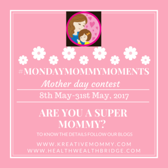Mothers Day Contest 2017 with 3MondayMommyMoments