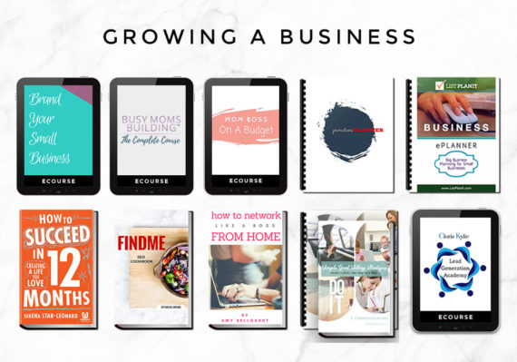 Growing a Business:Work at Home bundle