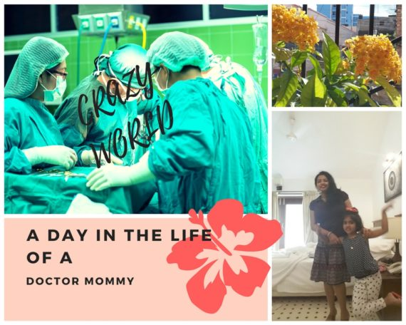 A day in the life of a doctor mommy