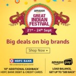 Amazon Shopping Festivals in India :Bookmark this Page