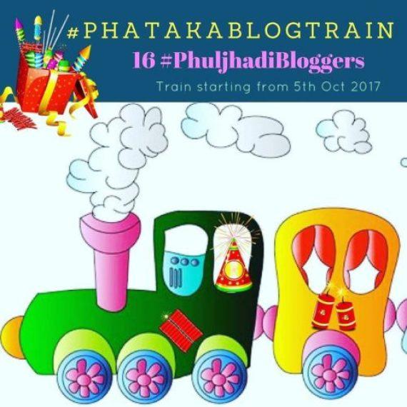 Diwali Blog trainThis #Diwali2017 #phuljhadibloggers