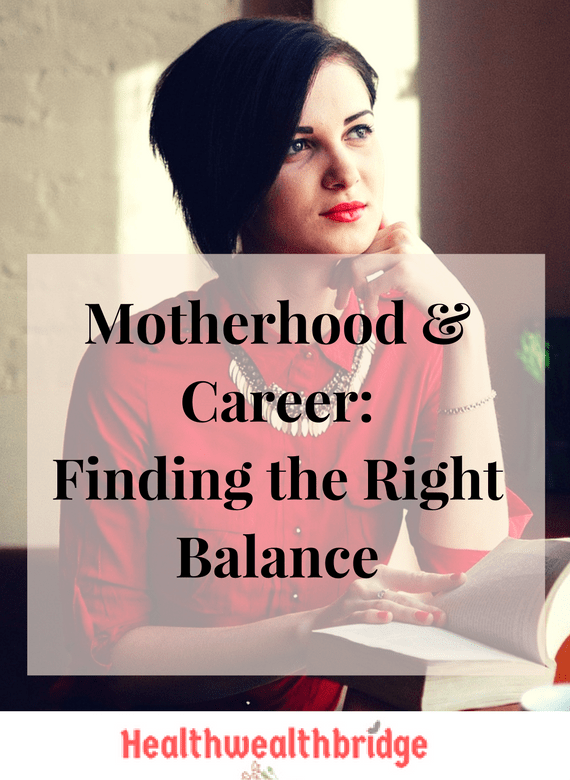 #MondayMommyMoments Motherhood & Career-Finding the Right Balance