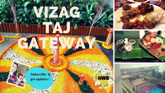 VIZAG TaJ Gateway food and the view