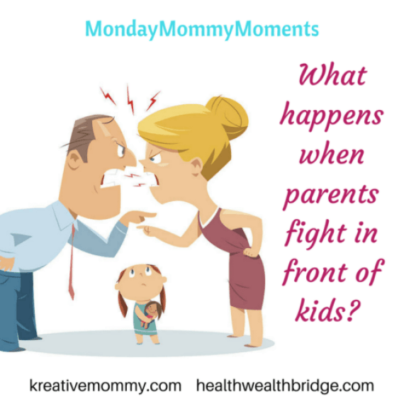 What happens when parents fight in front of kids_