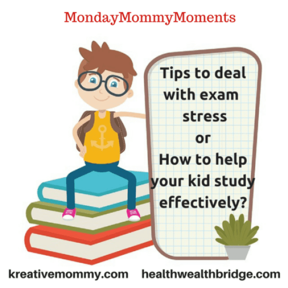 Share mommy tips for other moms to handle exam pressure