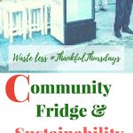 Community Fridge,Sustainability and Thankfulness:Waste less #ThankfulThursdays