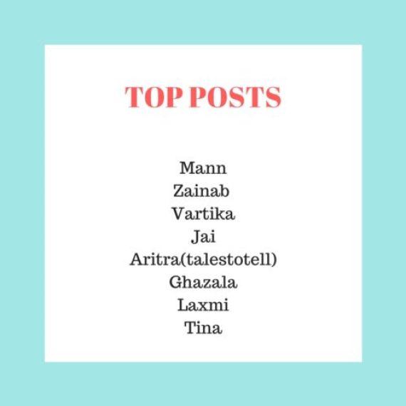 TOP POSTS week 6