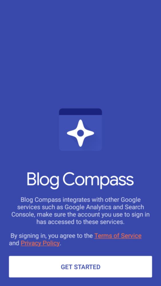 Google's Blog Compass