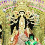 Durga Pujo celebration in West Bengal with Healthwealthbrige
