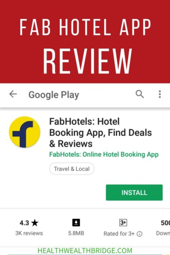 FAB HOTEL APP REVIEW