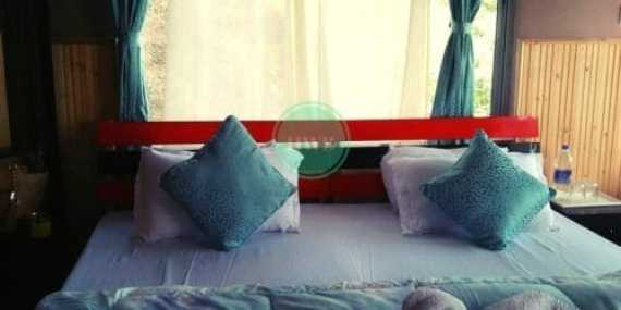 Blossoms Ecotourism:Chota Mangwa hotel Bedroom at New cottage 1