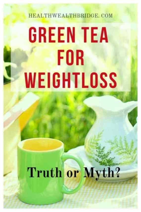Green tea and weightloss