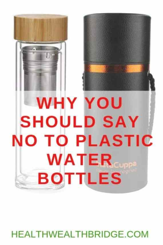 NO TO PLASTIC WATER BOTTLE
