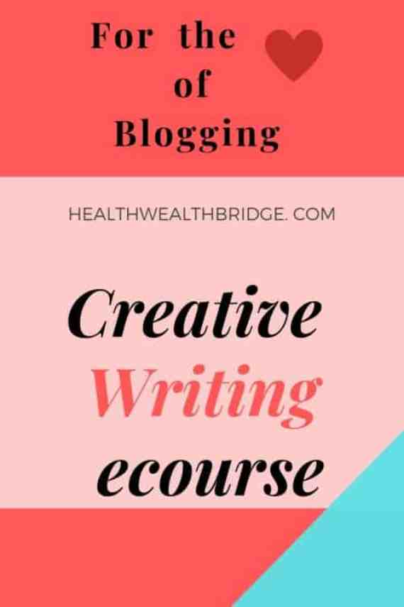 Creative Writing Ecourse