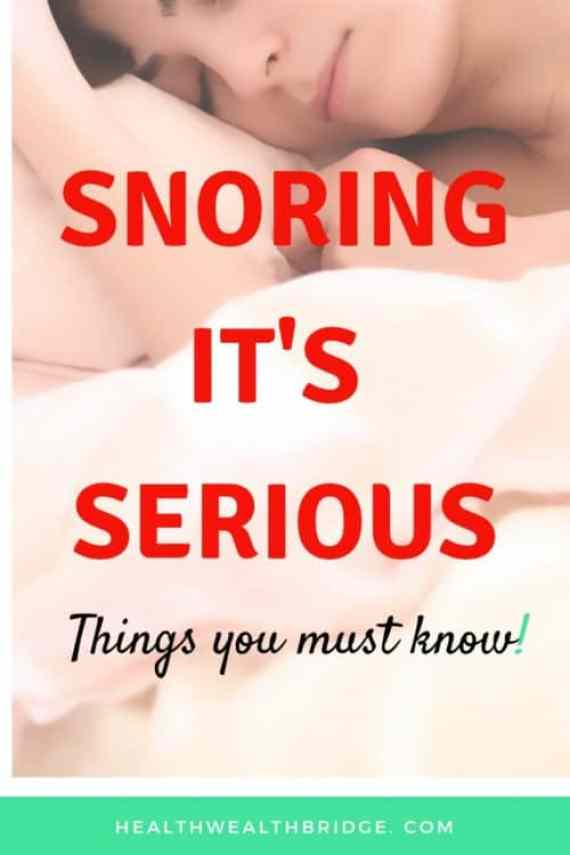 SNORING:Its serious #Worldsleepday