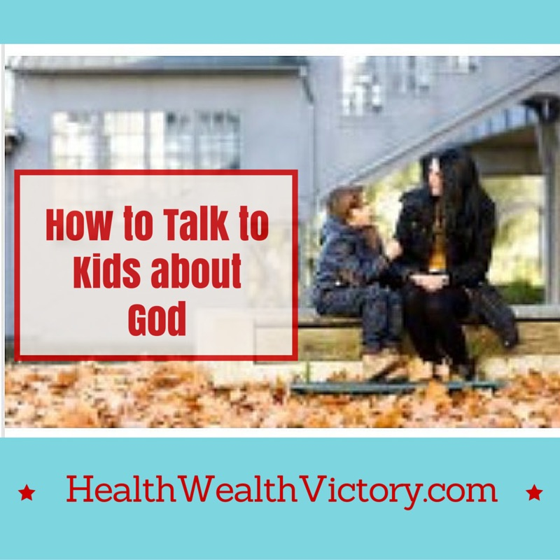 How to talk to kids about God