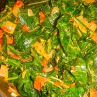 Zimbabwe Greens (AKA Peanut Butter Greens)