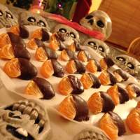 Chocolate Covered Clementines (Paleo)