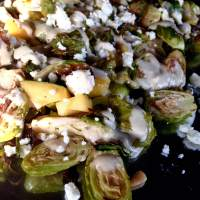 Brussel Sprout Salad with Tahini Dressing (Grain-Free)