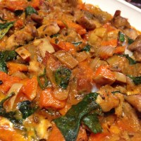 Butternut and Chicken Tomato Bake (Paleo)
