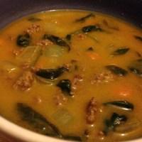 Pumpkin Coconut Beef Sauce/Soup (Paleo)