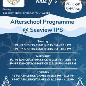 Healthy Kidz Afterschools at Seaview IPS