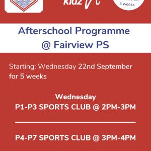 Healthy Kidz Afterschools at Fairview PS