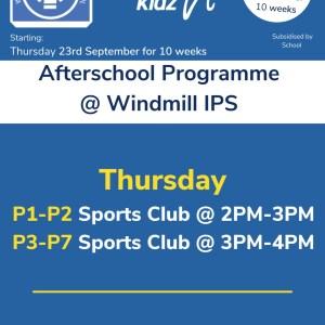 Healthy Kidz Afterschools at Windmill IPS