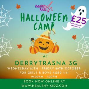 Halloween Camp at Derrytrasna 3G
