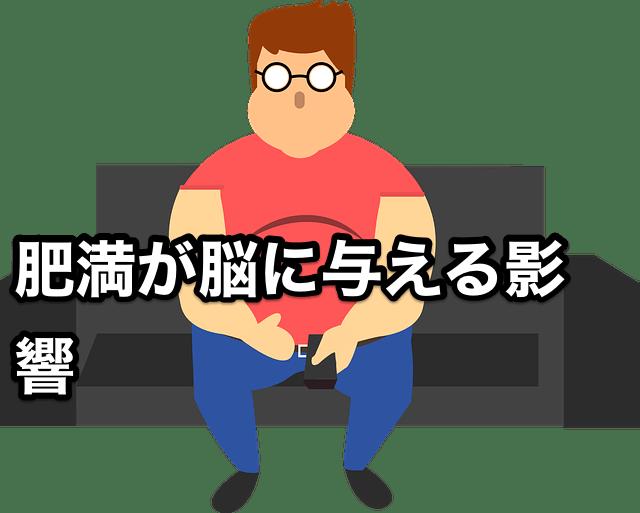 肥満が脳に与える影響