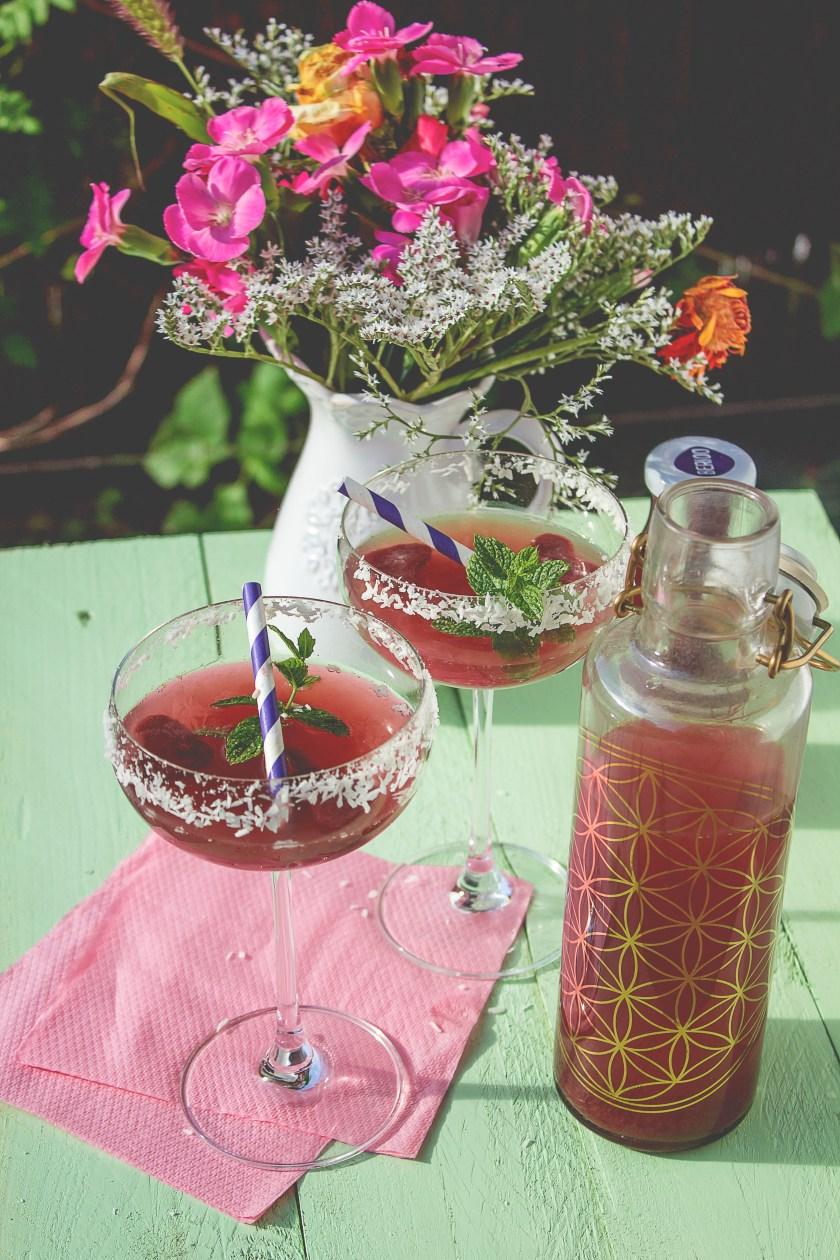 Heidelbeer Cocktail