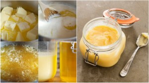GHEE BUTTER HOW TO DO IT AND WHAT IS GOOD?